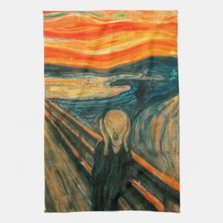 EDVARD MUNCH - The scream 1893 Kitchen Towel
