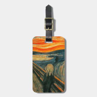 EDVARD MUNCH - The scream 1893 Luggage Tag