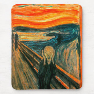 EDVARD MUNCH - The scream 1893 Mouse Pad