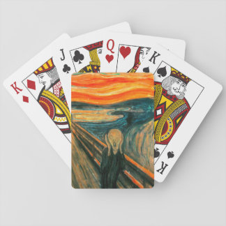 EDVARD MUNCH - The scream 1893 Playing Cards