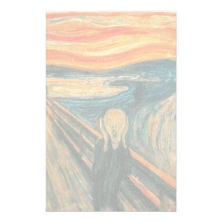 EDVARD MUNCH - The scream 1893 Stationery