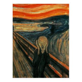Edvard Munch - The Scream Postcard