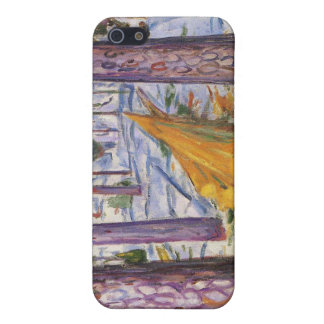 Edvard Munch - The Yellow Log Painting iPhone 5 Cover