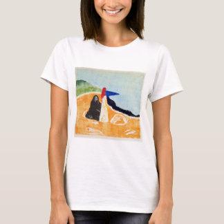 Edvard Munch Two Women on the Shore T-Shirt