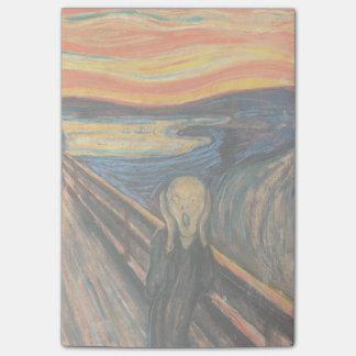 Edvard Munch's The Scream Post-It Note