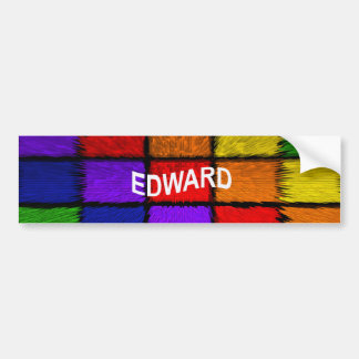 EDWARD BUMPER STICKER