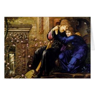Edward Burne-Jones- Love Among the Ruins Card