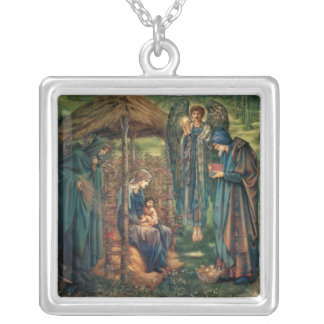 Edward Burne-Jones: Star of Bethlehem Silver Plated Necklace