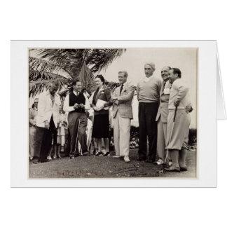 Edward, Duke of Windsor (1894-1972) and Wallis, Du Card