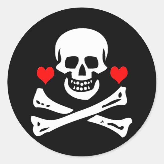 Edward England-Hearts Classic Round Sticker