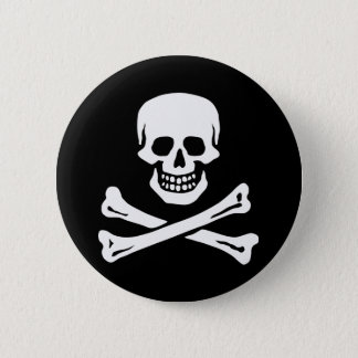 Edward England's Pirate 2 Inch Round Button