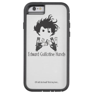 Edward Guillotine Hands iPhone Case