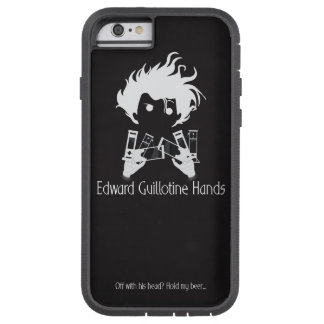 Edward Guillotine Hands iPhone Case Night