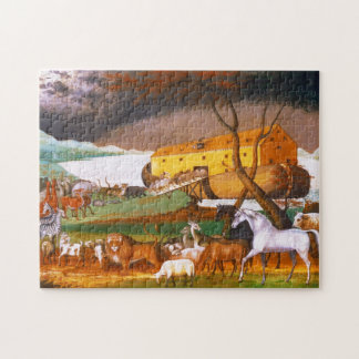 Edward Hicks Noah's Ark Jigsaw Puzzle