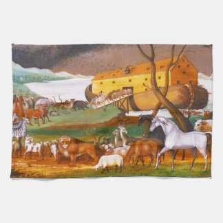 Edward Hicks Noah's Ark Kitchen Towel