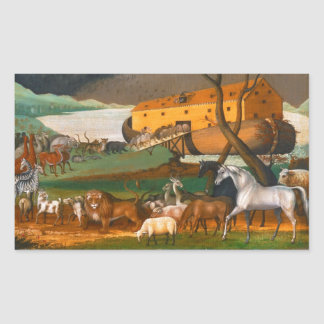 Edward Hicks Noah's Ark Sticker