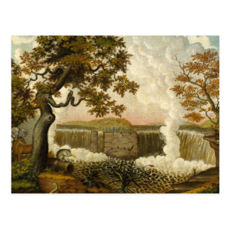 Edward Hicks The Falls of Niagara Postcard