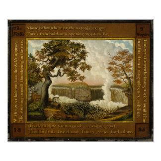 Edward Hicks The Falls of Niagara Poster
