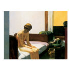 Edward Hopper Hotel Room Postcard