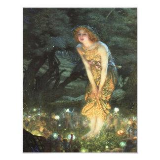 "Edward Hughes ""Midsummer Eve""  Fairies Photo Print"