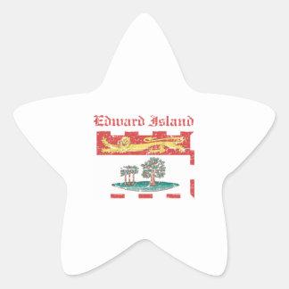 Edward_Island Canada coat of arms design Star Sticker