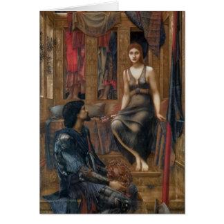 Edward -Jones- King Cophetua and the Beggar Maid Card