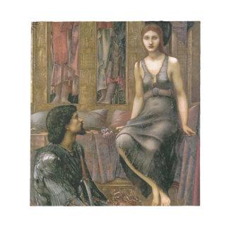 Edward -Jones- King Cophetua and the Beggar Maid Notepad