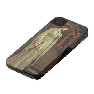 Edward Jones-Princess Sabra Led to Dragon Painting iPhone 4 Case-Mate Cases
