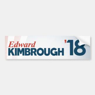 Edward Kimbrough for Senate Bumper Sticker
