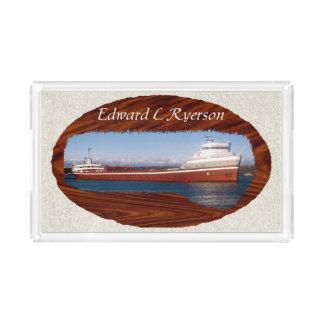 Edward L. Ryerson acrylic tray