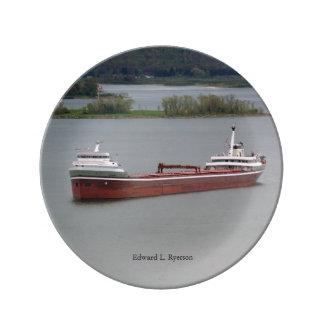 Edward L. Ryerson decorative plate