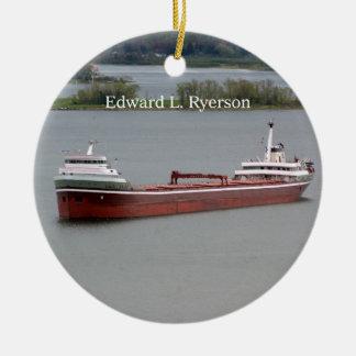 Edward L. Ryerson ornament