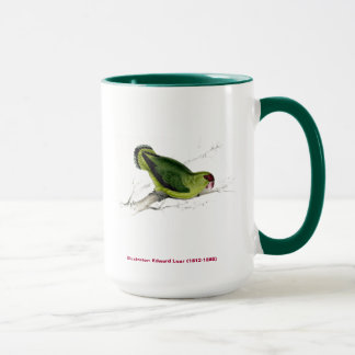 Edward Lear Bird Collection Abyssinian Parakeet Mug