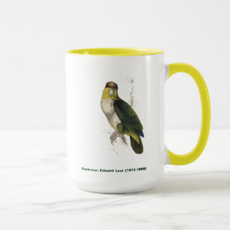 Edward Lear Bird Collection Bay Headed Parrot Mug