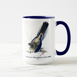 Edward Lear Bird Collection Browns Parakeet Mug
