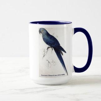 Edward Lear Bird Collection: Hyacinthine Macaw Mug