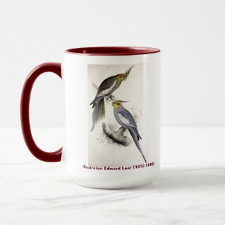 Edward Lear Bird Collection New Holland Parakeet Mug