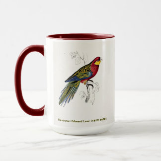 Edward Lear Bird Collection Stanley Parakeet AM Mug