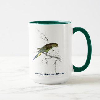 Edward Lear Bird Collection Undulated Parakeet Mug