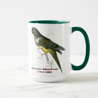 Edward Lear Bird Patagonian Parakeet-Macaw Mug