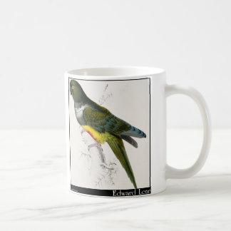 Edward Lear's Patagonian Parakeet-Macaw Coffee Mug