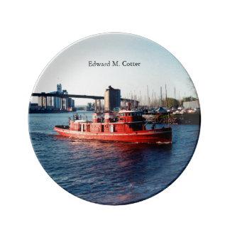 Edward M. Cotter decorative plate