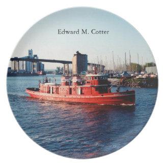 Edward M. Cotter plate