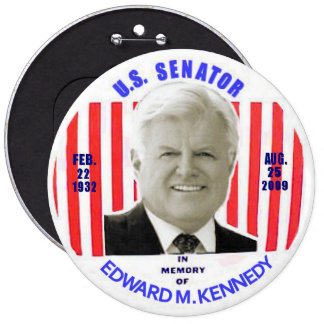 Edward M. Kennedy memorial button