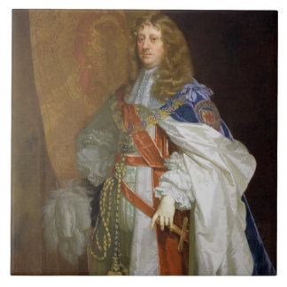 Edward Montagu, 1st Earl of Sandwich, c.1660-65 (o Ceramic Tile