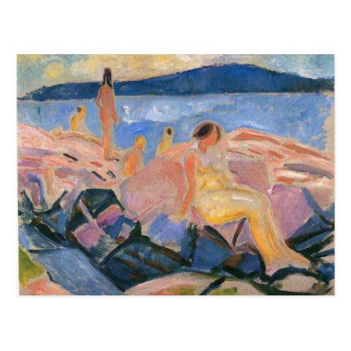 Edward Munch Art Painting Postcards