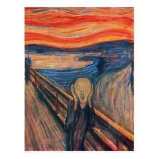 Edward Munch The Scream Postcard