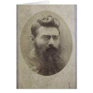 Edward (Ned) Kelly, age 25 Card