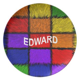 EDWARD PLATE