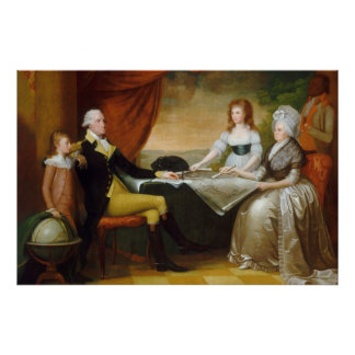 Edward Savage The Washington Family Poster